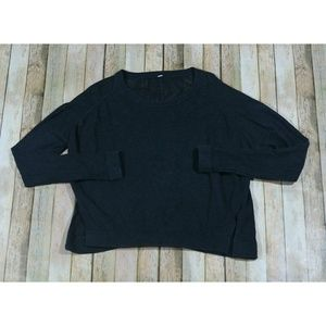 Lululemon Bhakti Life Sweater Yoga Open Knit Loose